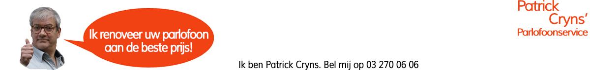 Patrick Cryns' Parlofoonservice